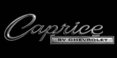 Logo Chevrolet Caprice (1966–1970)