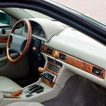 Maserati Quattroporte IV Innenraum mit Lederausstattung und Ulmenholzholzapplikation