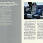 Mercedes-Benz C 126 Prospekt Doppelseite 3