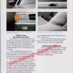 Mercedes-Benz C 126 Prospekt Innenseite 5