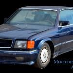Mercedes-Benz C126 500 SEC AMG V8 Wide-Body