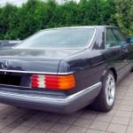 Mercedes-Benz C126 SEC Coupé rear view