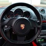 Porsche Boxster Spyder Typ 987 Lenkrad und Rundinstrumente