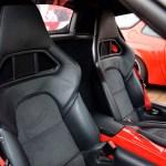 Porsche Boxster Spyder mit enganligenden Halbschalensitze