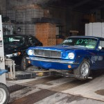 Ford Mustang blue metalic