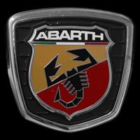 Logo Abarth auf Fiat 500 (2007-...)