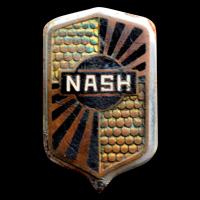 Logo Nash auf Kühlergrill von Nash Standard Six von 1929