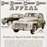 Volvo PV444 Advert