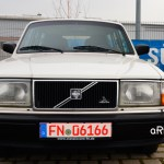 Volvo 240 Classic Kombi Frontansicht