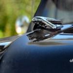 Volvo PV 444 Kühlerfigur huvkråka Kapuzenkrähe war nur bei den S-Modellen Serie