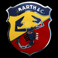 Logo Abarth auf Abarth 1000 TC (1962-1970)