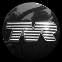 Logo TVR Tuscan S auf Lenkrad
