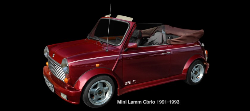 Mini Lamm Cabrio Poster photographed by aRi F.