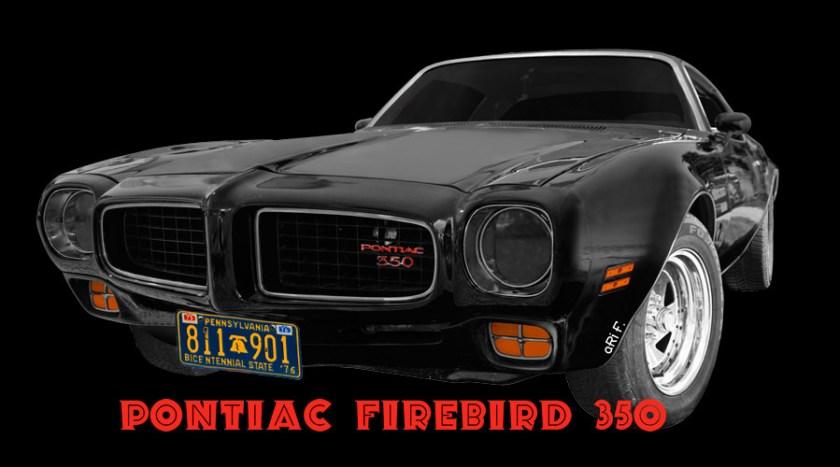 Pontiac Firebird 350 Poster by aRi F.