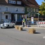 Mercedes-Benz 220 SE (W128) Cabriolet beim Stadtkurs in Meßkirch beim Oldtimertreffen 2019