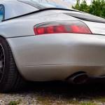 Porsche 911 GT3 Typ 996 detail view