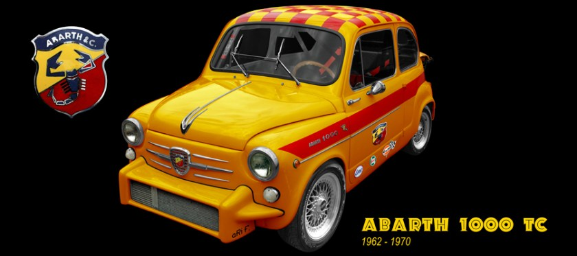 Fiat Abarth 1000 TC Poster by aRi F.