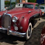 Jaguar Mark IX 1958-1961 in dubble color red and black