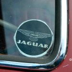 Jaguar Mark IX mit Jaguar Sticker aus den 60er Jahren
