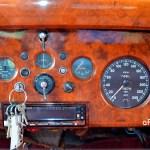 Jaguar Mark IX mit Stundenkilomterzähler K.P.H. = kilometers per hour