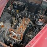 Jaguar Mark IX mit ausgebautem 3.8 Litre Motor