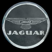 Jaguar Plakette/Aufkleber aus den 1960er