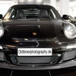 Porsche 911 GT3 3.8 mit Bi-Xenon-Scheinwerfer, color black front view