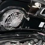 Porsche 911 GT3 3.8 mit geöffneter Motorhaube Detailansicht