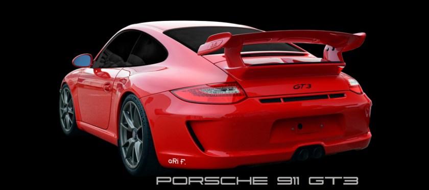Porsche 911 GT3 Poster by aRi F.