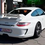 Porsche 911 GT3 Typ 997 in white color