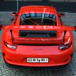Porsche 911 Typ 991.1 GT3 RS 2015-2016 Heckansicht / rear view