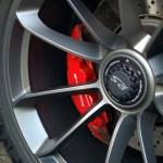 Porsche 911 Typ 991.1 GT3 RS Felgen in silber-grau mit Schnellverschluss