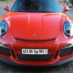 Porsche 911 Typ 991.1 GT3 RS Frontansicht