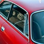Alfa Romeo GT 1300 Junior Ansicht auf die seitlichen Ausstellfenster vorn und hinten