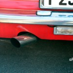 Alfa Romeo GT 1300 Junior Auspuff und Rückfahrlicht