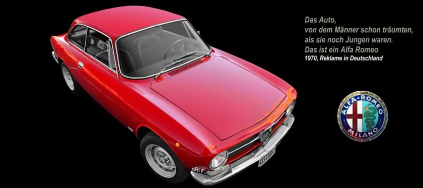 Alfa Romeo GT 1300 Junior Poster by aRi F.