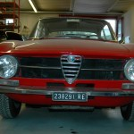 Alfa Romeo Sprint GT (1963-1966) front view