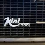 Logo Mini 1000 auf Kühlrippen vorn