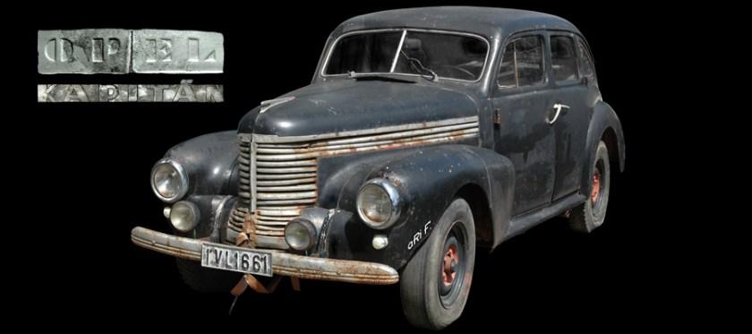 Opel Kapitän Vorkriegsmodell 1939