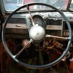 Opel Kapitän Interieur mit 3-Speichenlenkrad aus Bakelit