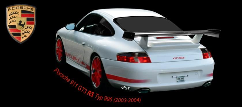 Porsche 911 GT3 RS Typ 996 Poster by aRi F.