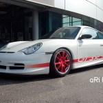 Porsche 911 GT3 RS Typ 996 side view