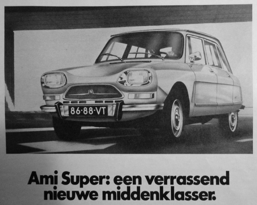 Ami Super 8 promotion in Netherland