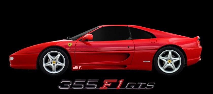 Ferrari F355 GTS F1 photographed by aRi F.
