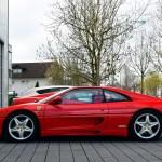 Ferrari F355 GTS F1 side view
