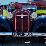 Adler Trumpf Junior 1E- Limousine von 1936 Frontansicht