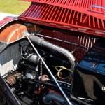 Adler Trumpf Junior 1E- Limousine Motorinneraum