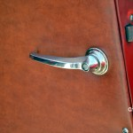 Adler Trumpf Junior 1E- Limousine mit Lederverkleidung an Seitentüren