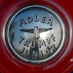 Adler Trumpf Junior Cabriolimousine Abdeckung für Ersatzrad