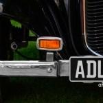Adler Trumpf Junior Cabriolimousine Stoßfänger mit rechteckigem Blinker